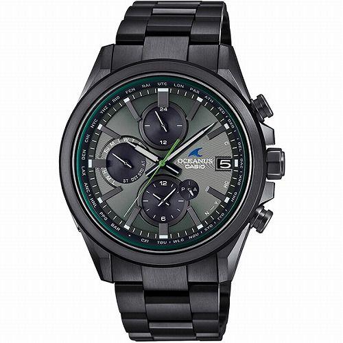 CASIO OCEANUS CLASSIC LINE ソーラー電波腕時計 OCW-T4000BA-1A3JF メンズ スマートフォンリンク 3年保証 国内正規品 予約受付
