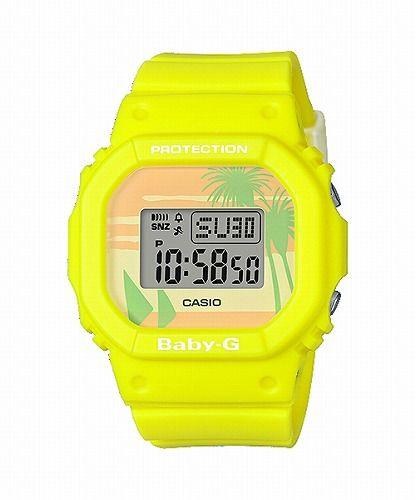 カシオ ベビーG デジタル腕時計 BGD-560BC-9JF レディース 80's Beach Colors 限定品 国内正規品