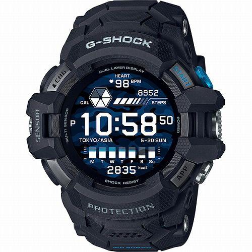 カシオGショック G-SQUAD PRO GSW-H1000-1JR メンズ Wear OS by Google TM搭載スマートウオッチ  国内正規品