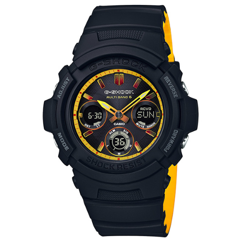 カシオGショック ソーラー電波腕時計  AWG-M100SBY-1AJF メンズ 国内正規品