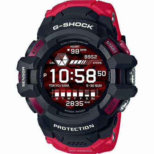 カシオGショック G-SQUAD PRO GSW-H1000-1A4JR メンズ Wear OS by Google TM搭載スマートウオッチ  国内正規品