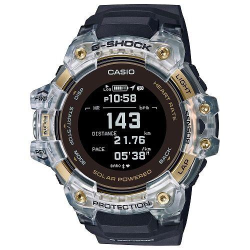 カシオGショック ジー・スクワッド 心拍計 GPS機能 Bluetooth 搭載 ソーラー電波腕時計 GBD-H1000-1A9JR メンズ 国内正規品