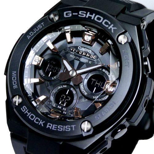 カシオGショックGスチール 電波ソーラー腕時計  GST-W310BDD-1AJF プレシャス・ハート・セレクション メンズ 国内正規品