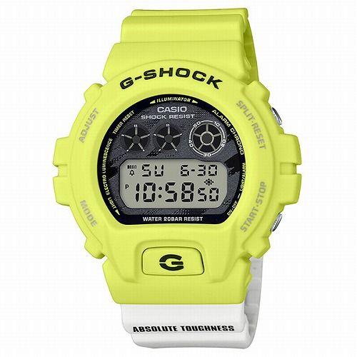 CASIO G-SHOCK デジタル腕時計  DW-6900TGA-9JF メンズ Lightning YelloW Sereis  国内正規品