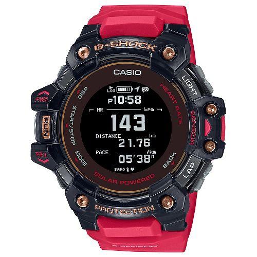 カシオGショック ジー・スクワッド 心拍計 GPS機能 Bluetooth 搭載 ソーラー電波腕時計 GBD-H1000-4A1JR メンズ 国内正規品