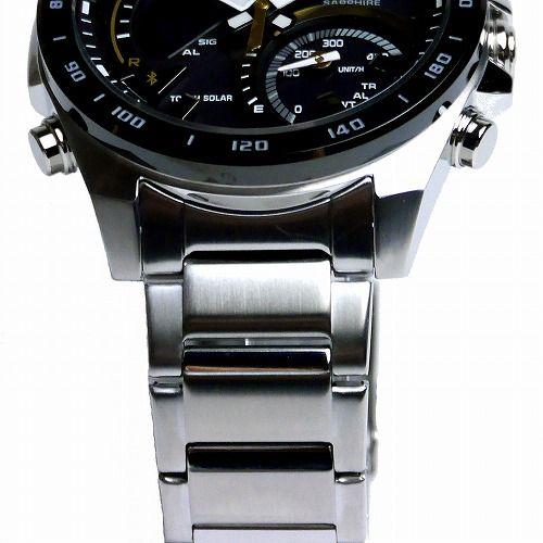 カシオ エディフィス スマートフォンリンク ソーラー腕時計 ECB-900YDB-1CJF メンズ 国内正規品