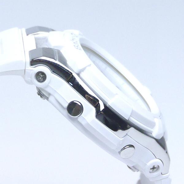 カシオ ベビーG アナ・デジ 腕時計  BGA-110TR-7BJF  White Tricolor Series レディース 国内正規品 【動画有】