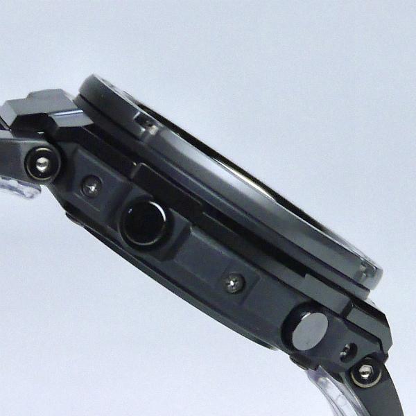 カシオGショック黒 Gスチール ソーラー電波腕時計  GST-W110BD-1BJF メンズ 国内正規品【動画有】