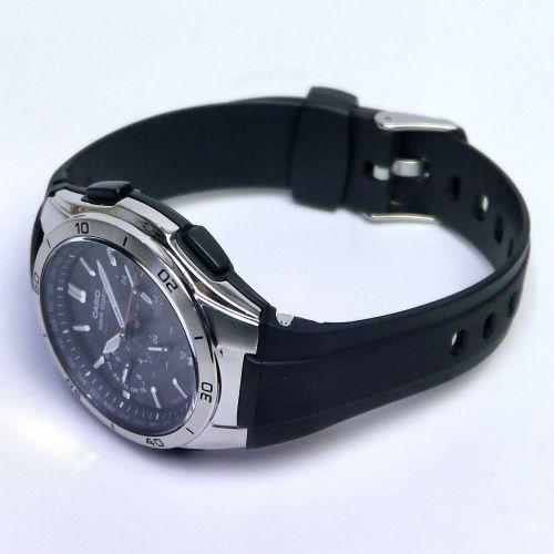カシオ ウェーブセプター ソーラー電波腕時計  WVQ-M410-1AJF メンズ 国内正規品 【動画有】