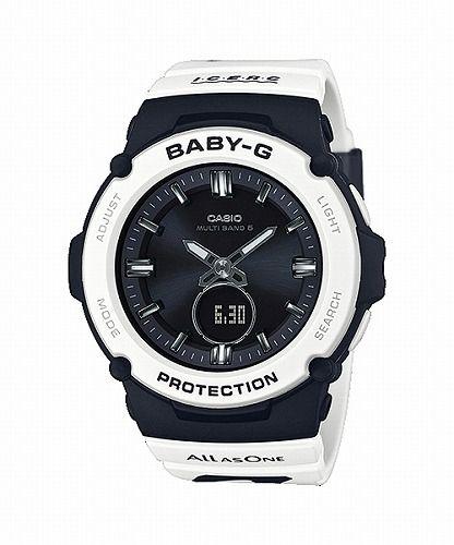 カシオ ベビーG  アナ・デジ ソーラー電波腕時計  BGA-2700K-1AJR イルカ・クジラ2020年モデル レディース 国内正規品