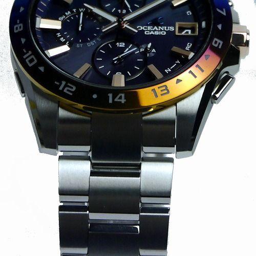 カシオ オシアナス ソーラー電波腕時計 OCW-T3000C-2AJF メンズ 15th Anniversary Limited 世界限定1000本  スマートフォンリンク 3年保証 国内正規品