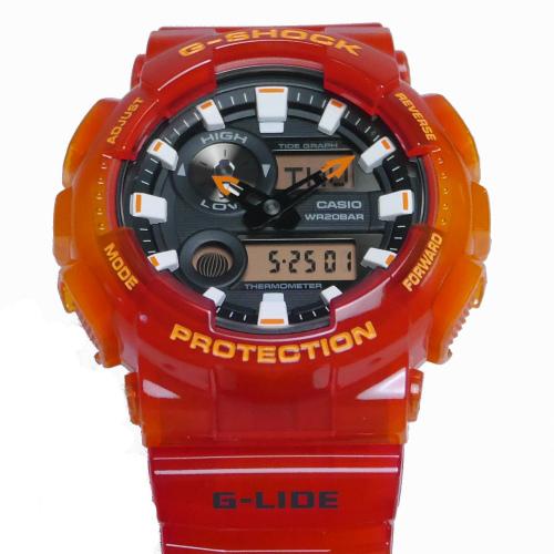 カシオGショックGライド アナログ・デジタル腕時計  GAX-100MSA-4AJF メンズ 国内正規品