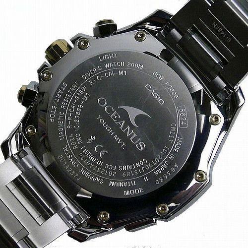 カシオ オシアナス カシャロ 電波ソーラー腕時計 OCW-P2000D-2AJF 世界限定1200本 メンズ 20気圧防水 スマートフォンリンク 国内正規品