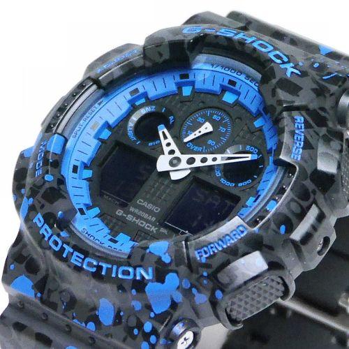カシオGショック アナログ・デジタル腕時計  GA-100ST-2AJR  STASH コラボモデル メンズ 国内正規品