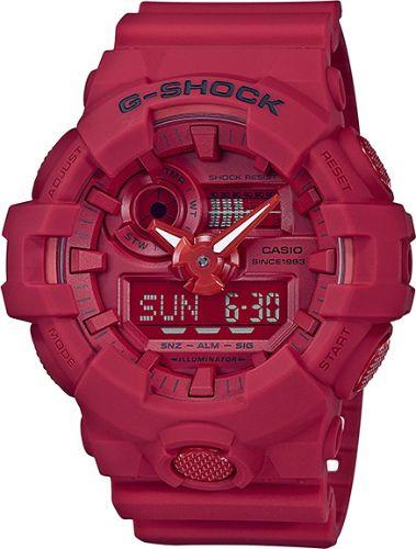 カシオGショック アナログ・デジタル腕時計  GA-735C-4AJR 35th Anniversary RED OUT メンズ 国内正規品