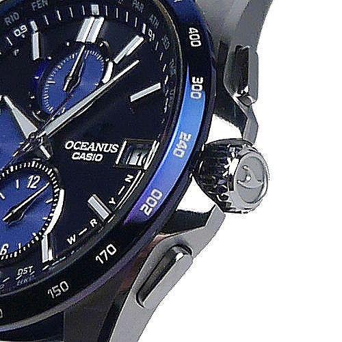 カシオ オシアナス ソーラー電波腕時計 OCW-T2600ALA-2AJR クラシックライン Japan Indigo 世界限定 3年保証 国内正規品