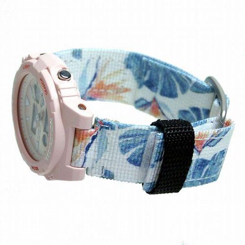 カシオ ベビーG Gライド アナ・デジ 腕時計  BAX-100RX-4AJR ROXYコラボレーションモデル レディース 国内正規品