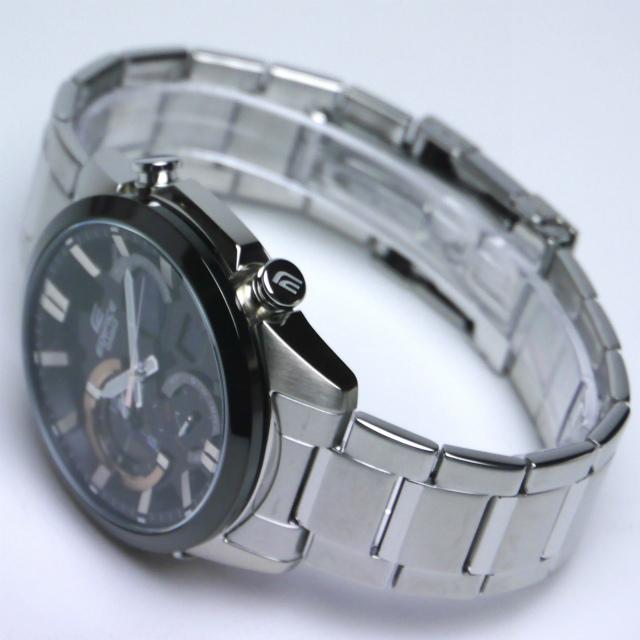 カシオ エディフィス アナログ・デジタル腕時計  ERA-500DB-1AJF デュアルダイアルワールドタイム搭載 メンズ 国内正規品 【動画有】