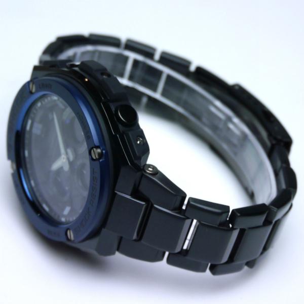 カシオGショック Gスチール ソーラー電波腕時計  GST-W110BD-1A2JF メンズ 国内正規品 【動画有】