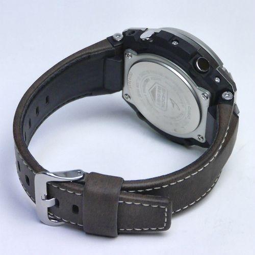 カシオGショック Gスチール ソーラー電波腕時計  GST-W130L-1AJF メンズ 国内正規品 【動画有】