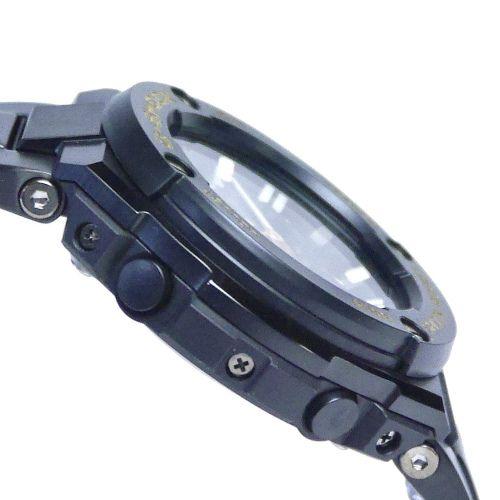 カシオGショック黒金 Gスチール 電波ソーラー腕時計  GST-W300BD-1AJF メンズ 国内正規品