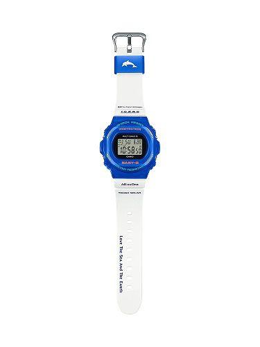 カシオ ベビーG ソーラー電波腕時計  BGD-5700UK-2JR レディース イルカ・クジラ2021年モデル 国内正規品