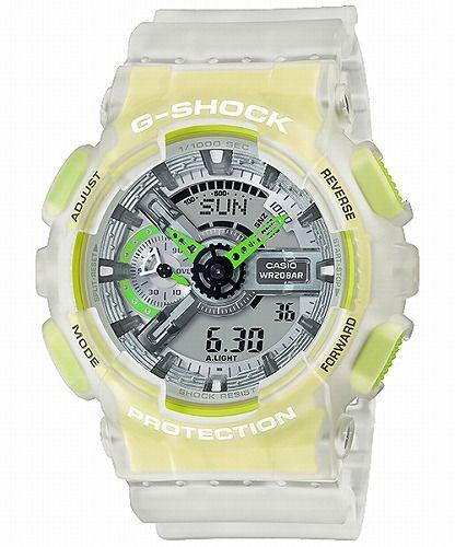 CASIO G-SHOCK アナログ・デジタル腕時計 GA-110LS-7AJF メンズ  Color Skeleton Series  限定品 国内正規品
