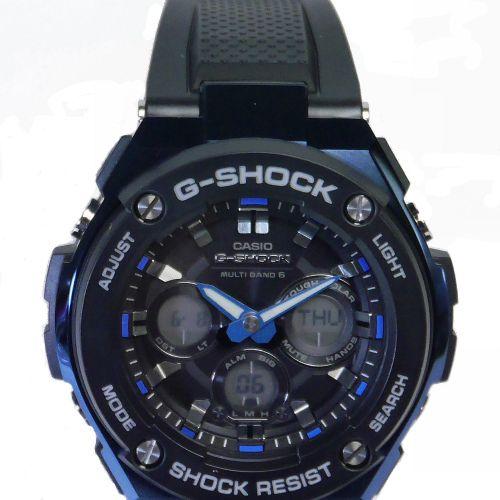 カシオGショックGスチール 電波ソーラー腕時計  GST-W300G-1A2JF メンズ 国内正規品