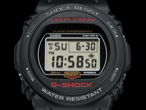 カシオGショック デジタル腕時計  DW-5750E-1JF  メンズ 国内正規品