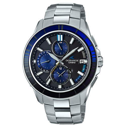 カシオ オシアナス マンタ Bluetooth搭載 ソーラー電波腕時計  OCW-S4000C-1AJF メンズ 世界限定1500本 3年保証 国内正規品