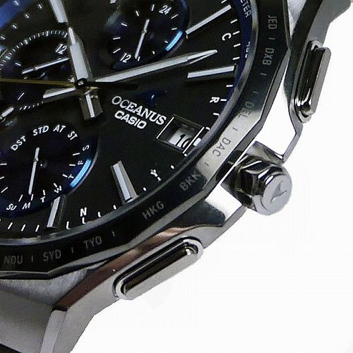 カシオ オシアナス マンタ Bluetooth搭載 ソーラー電波腕時計  OCW-S5000E-1AJF メンズ 3年保証 国内正規品