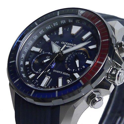 カシオ オシアナス カシャロ 電波ソーラー腕時計 OCW-P2000C-2AJF メンズ 20気圧防水 スマートフォンリンク 国内正規品