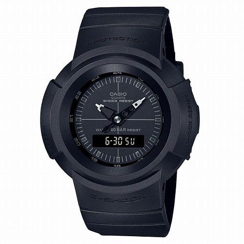 カシオGショック黒 アナログ・デジタル腕時計  AW-500BB-1EJF メンズ 復刻モデル  国内正規品