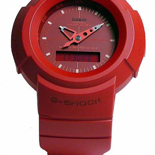 カシオGショック アナログ・デジタル腕時計  AW-500BB-4EJF メンズ 復刻モデル  国内正規品
