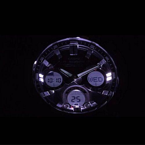 カシオGショック Gスチール ソーラー電波腕時計  GST-W110-1AJF メンズ 国内正規品 【動画有】