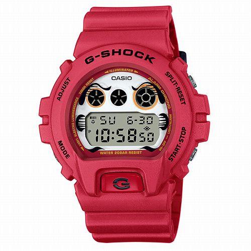 カシオGショック デジタル腕時計 DW-6900DA-4JR メンズ 「達磨」 国内正規品