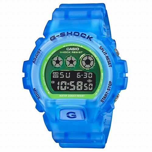 カシオGショック デジタル腕時計 DW-6900LS-2JF メンズ Color Skeleton Series  限定品 国内正規品