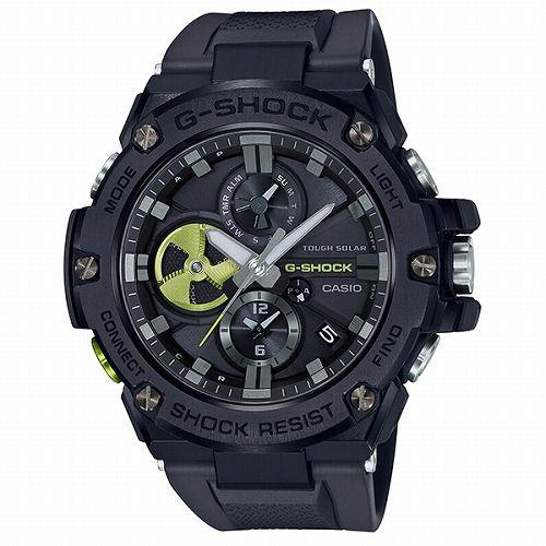 カシオGショックGスチール ソーラー腕時計  GST-B100B-1A3JF メンズ スマートフォンリンク  国内正規品