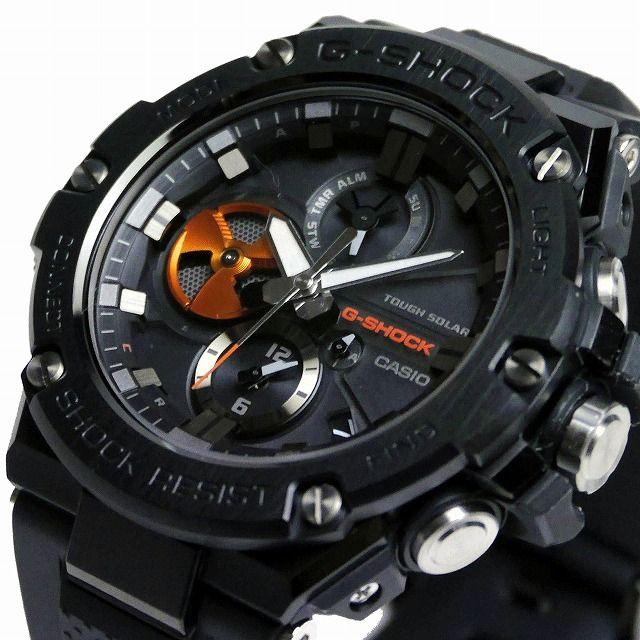 カシオGショックGスチール ソーラー腕時計  GST-B100B-1A4JF メンズ スマートフォンリンク  国内正規品