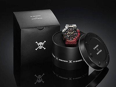 CASIO G-SHOCK アナログ・デジタル腕時計 GA-110JOP-1A4JR メンズ  「ONE PIECE」コラボレーションモデル 国内正規品