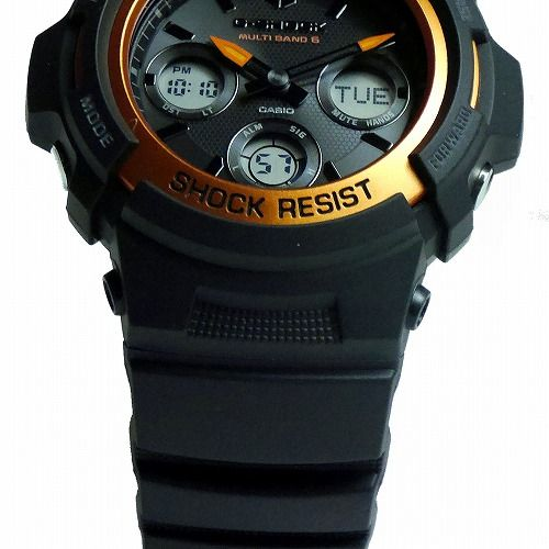 カシオGショック ソーラー電波腕時計 AWG-M100SF-1H4JR  FIRE PACKAGE'20 メンズ 国内正規品