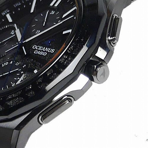 カシオ オシアナス マンタ スマートフォンリンク ソーラー電波腕時計 OCW-S5000ME-1AJF メンズ プラチナ蒔絵  世界限定1,500本 3年保証 国内正規品