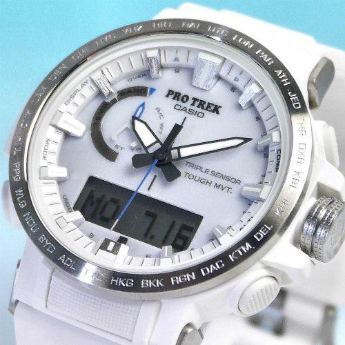 カシオ プロトレック アナログ・デジタル ソーラー電波腕時計   PRW-60-7AJF メンズ  国内正規品