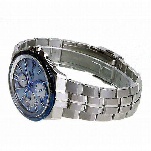 カシオ オシアナス マンタ Bluetooth搭載 ソーラー電波腕時計 OCW-S5000APA-2AJF メンズ Japan Indigo 3年保証 国内正規品