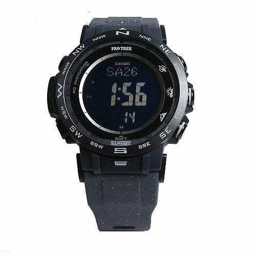 カシオ プロトレック クライマーライン ソーラー電波腕時計 PRW-30ECA-1JR メンズ ELNEST CREATIVE ACTIVITY コラボレーションモデル 国内正規品