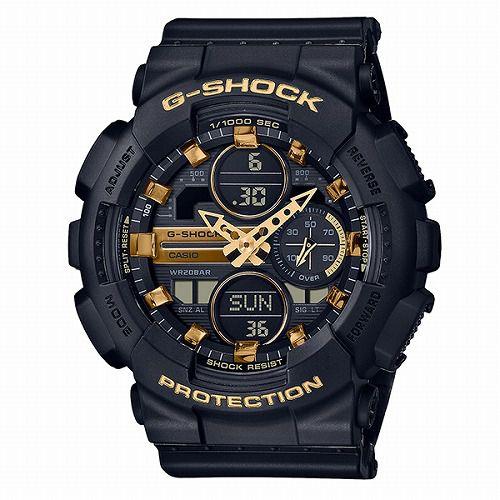 CASIO G-SHOCK アナログ・デジタル腕時計 GMA-S140M-1AJF ミッドサイズ メンズ 国内正規品