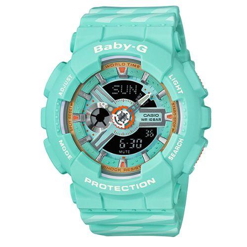 カシオ ベビーG アナ・デジ腕時計   BA-110CH-3AJF レディース 限定品 国内正規品