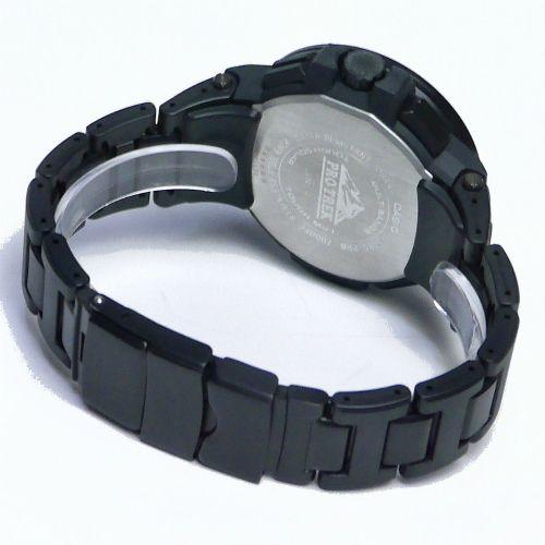 カシオ プロトレック アナログ・デジタル ソーラー電波腕時計   PRW-7000FC-1BJF メンズ 国内正規品 【動画有】