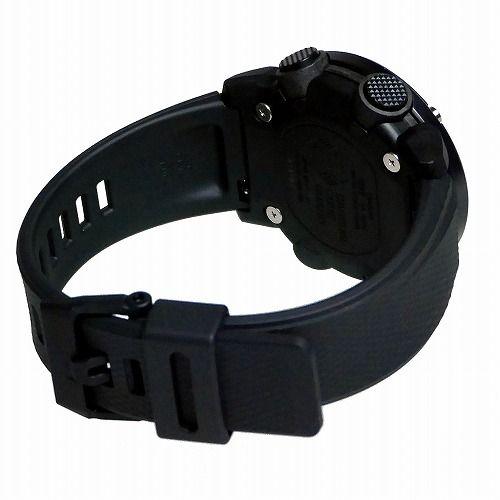 カシオGショック黒 アナログ・デジタル腕時計  GA-2000SU-1AJF メンズ Utility Color 国内正規品