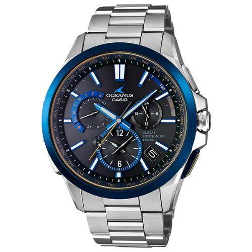 カシオ オシアナス GPSハイブリッド電波ソーラー腕時計   OCW-G1100TG-1AJF メンズ  3年保証 国内正規品